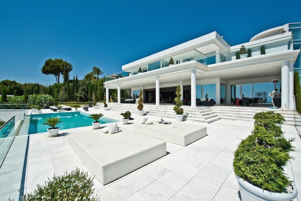 rond moderne villas